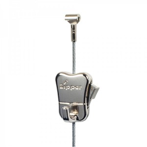 1x steel cable + 1x STAS zipper hook - up to 20 kg (44 lbs)